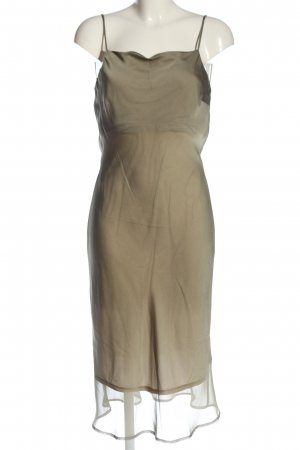 Mexx Trägerkleid bronzefarben Webmuster Elegant