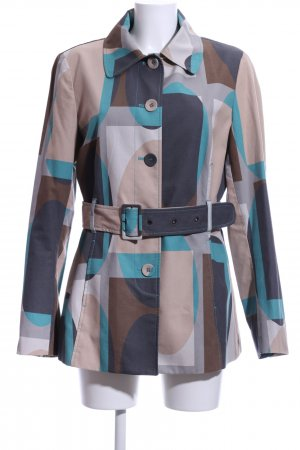 Mexx Trenchcoat Allover-Druck Casual-Look