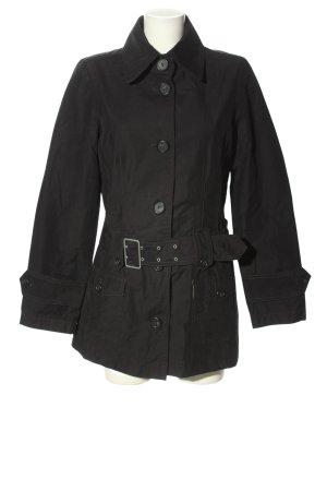 Mexx Trenchcoat schwarz Casual-Look