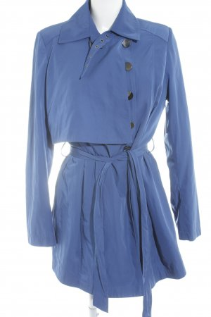 Mexx Trenchcoat blau Business-Look