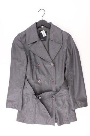 Mexx Trenchcoat Größe 36 grau aus Polyester