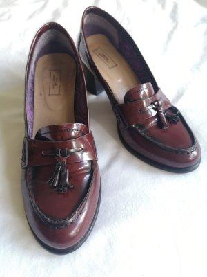 Mexx Loafers zwart-bordeaux