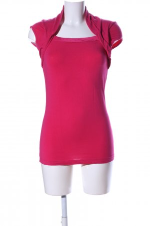 Mexx Boatneck Shirt pink casual look