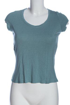 Mexx U-Boot-Shirt blau meliert Casual-Look