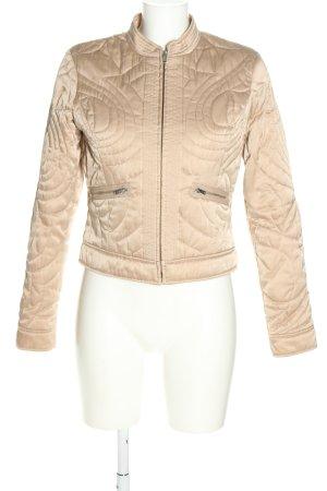 Mexx Between-Seasons Jacket cream quilting pattern casual look