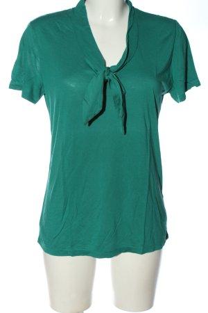 Mexx V-Ausschnitt-Shirt türkis Casual-Look