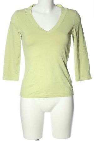 Mexx V-Ausschnitt-Shirt grün Casual-Look