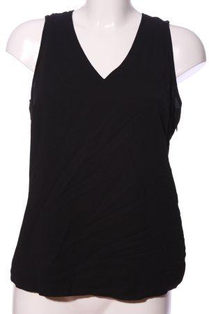 Mexx V-Ausschnitt-Shirt schwarz Casual-Look