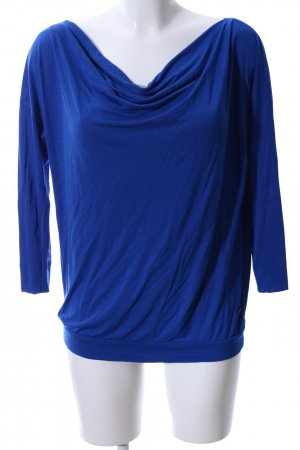 Mexx Cowl-Neck Shirt blue casual look