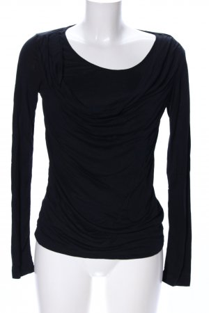 Mexx Cowl-Neck Shirt black casual look
