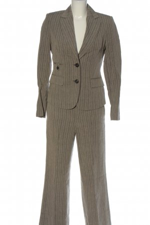Mexx Woven Twin Set light grey-black striped pattern business style