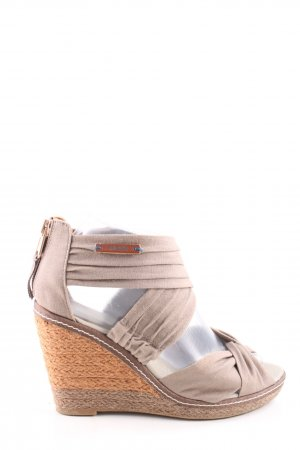 Mexx Wedges Sandaletten wollweiß Casual-Look