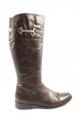 Mexx Wide Calf Boots brown business style