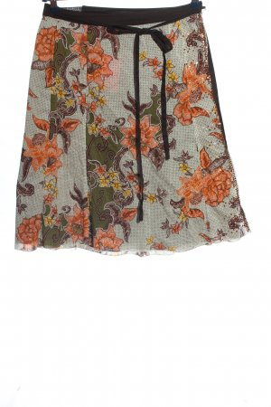 Mexx Wraparound Skirt allover print casual look