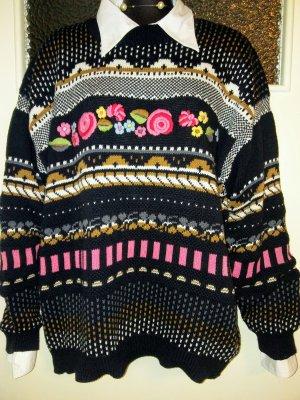 Mexx Pull tricoté multicolore coton