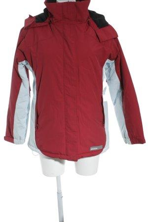 Mexx Veste d'hiver rouge-turquoise style décontracté