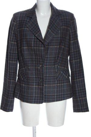 Mexx Woll-Blazer blau Allover-Druck Business-Look