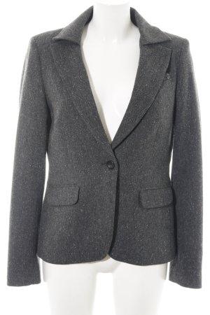 Mexx Woll-Blazer silberfarben meliert Business-Look