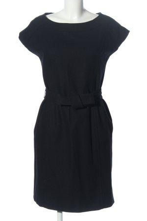 Mexx Robe en laine noir style décontracté
