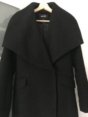 Mexx Manteau en laine noir laine
