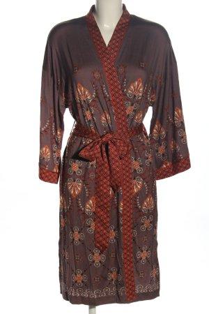 mey Kimono brązowy-jasny pomarańczowy Na całej powierzchni W stylu casual