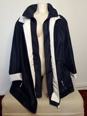 Outdoor Jacket dark blue-white polyester