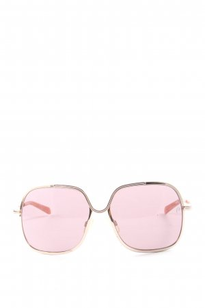 Mia eckige Sonnenbrille pink Casual-Look