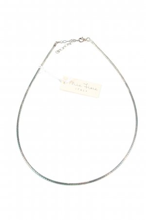 Mia Fiore Halskette silberfarben-blau Elegant