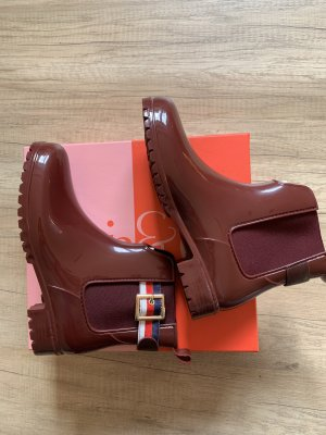 Mia & Jo Wellies brown red