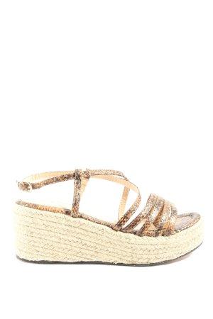 Mia & Jo Espadrille Sandals allover print casual look