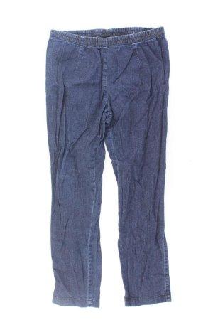 mia linea Hose Größe 40 blau aus Baumwolle