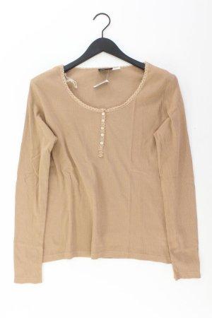 mia linea Shirt Größe 40/42 braun aus Baumwolle