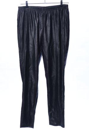 Mia Moda Leggings negro estilo extravagante