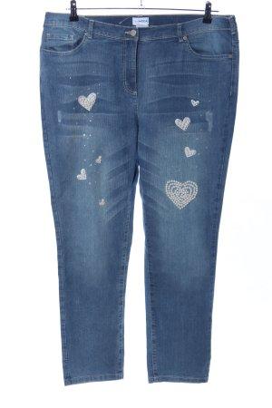 Jeans slim bleu style décontracté