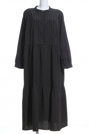 Mia Moda Flounce Dress striped pattern casual look