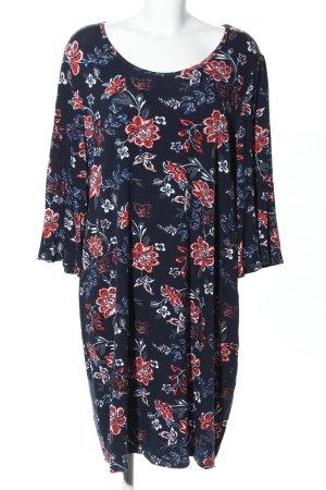 Vestido de tela de jersey estampado floral estilo «business»