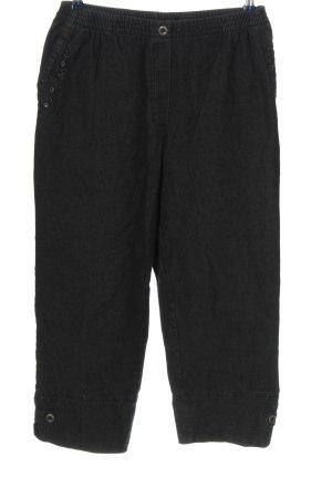 Mian Spodnie 3/4 czarny W stylu casual