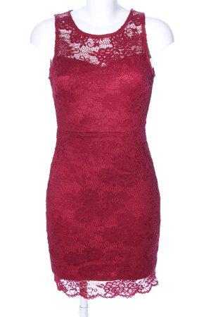 Miao Miao Spitzenkleid rot Elegant