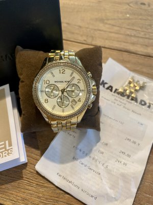 Michael alles Uhr, Gold mit Steinen
