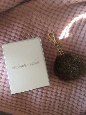 Michael Kors Sleutelhanger grijs-bruin-beige