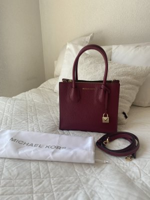 Michael Koes Tasche Mercer small, bordeaux / beerenrot