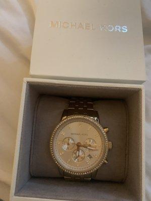 Michael Koes Uhr Gold mit Steinen