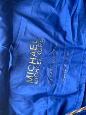 Michael Kors Down Jacket blue