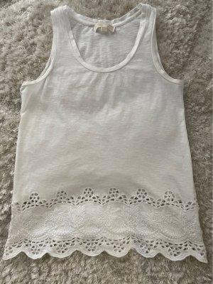 Michael Kors Crochet Shirt white