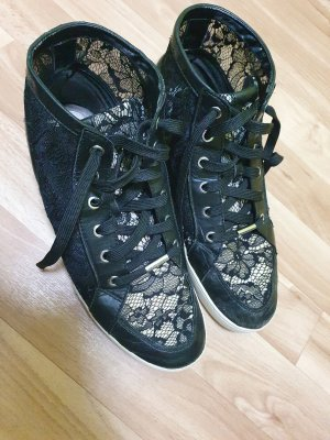 Michael Kors High top sneaker zwart