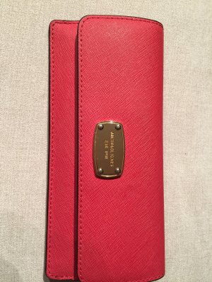 Michael Kors Wallet gold-colored-magenta