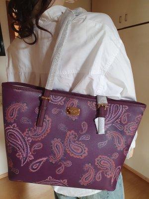 Michael Kors Torebka z rączkami purpurowy