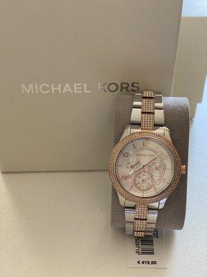 Michael Kors Horloge met metalen riempje zilver-goud