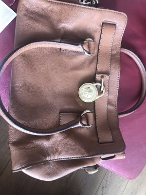 Michael Kors Sac Baril brun