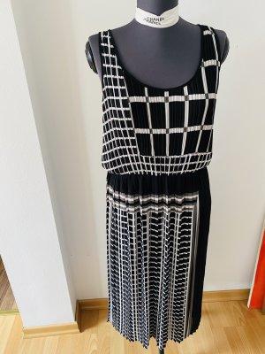 Michael Kors Sukienka midi biały-czarny